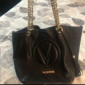Authentic Valentino Black Handbag